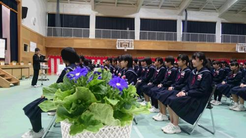 辰口中学校卒業式 - ぜんだ善彦 ...