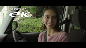 滝沢カレン MITSUBISHI ekシリーズ「カレンさんのeK」篇0007