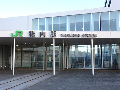 34稚内駅