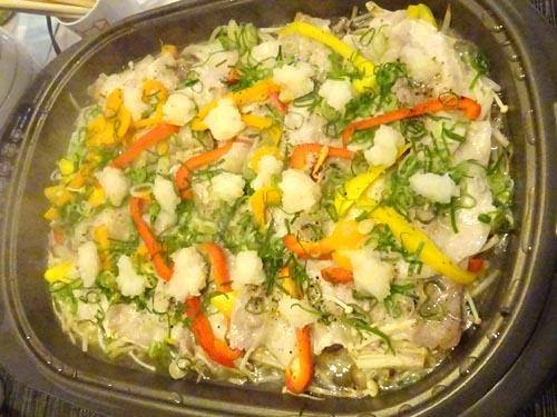 18豚と野菜の蒸し焼き