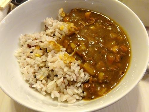 23十五穀米カレー