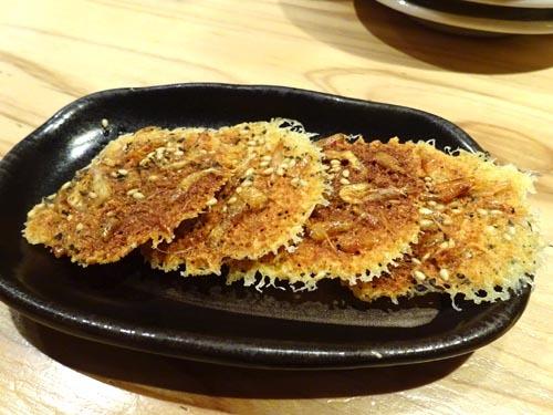 36桜えびのカリカリチーズ焼き