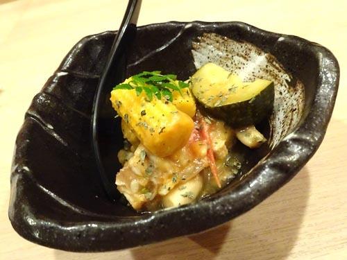 33夏野菜の冷製ラタトゥイユ