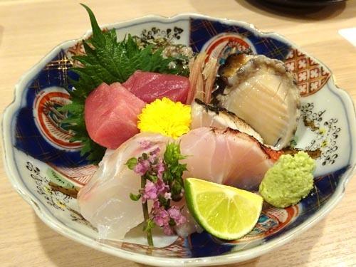 35天然平目赤身トロ蝦夷姫アワビとろさわら金目鯛
