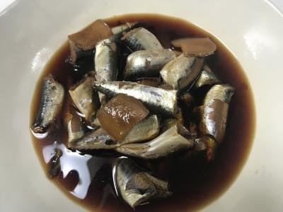 サバっ子の生姜煮