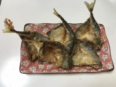 サバの天ぷら