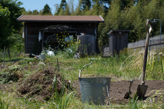 房総フィールド ガーデン 耕起作業続き
