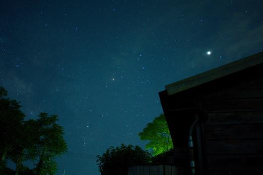 房総 星空 蠍座と木星