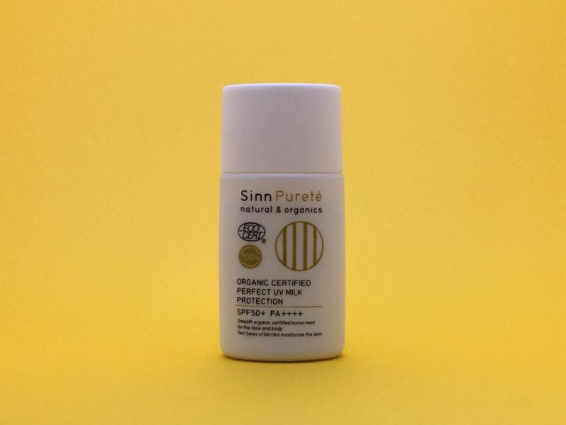 Alternative Life Tool #29 Sinn Purete Organic UV Milk Protection