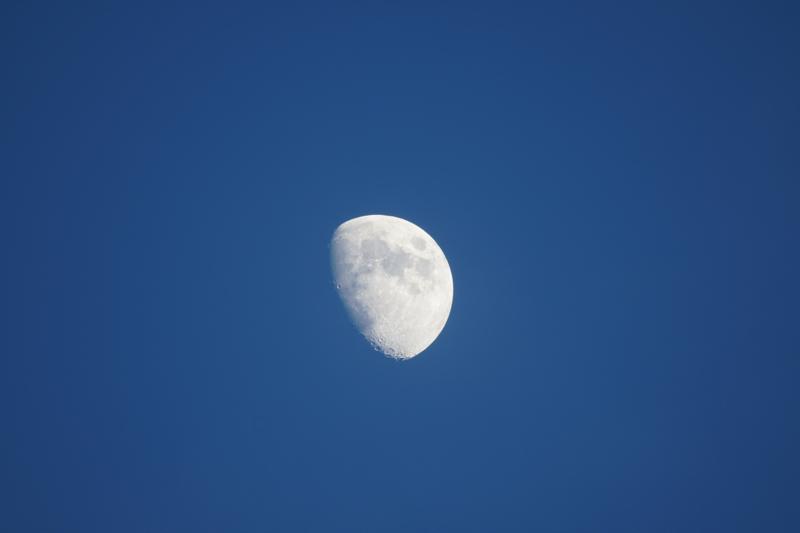 満ちてゆくお月様