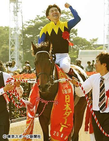 【日本ダービー】は福永祐一騎乗のワグネリアンが制覇