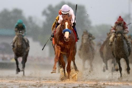 【ベルモントS2018】ジャスティファイ、41年ぶりの無敗米三冠馬!