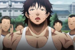 【バキ】3話感想 刃牙の体力測定回!ついに死刑囚と地下格闘士5人が見合う!
