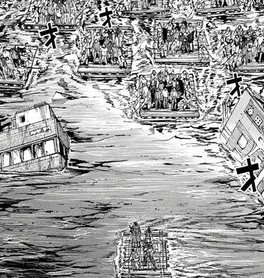 彼岸島169話 筏