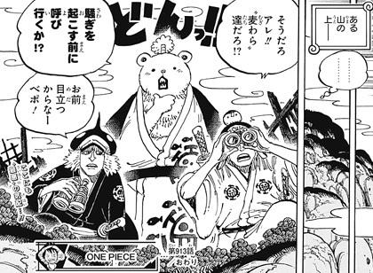 ワンピース914話へ ハート海賊団