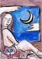 魔猫と裸婦