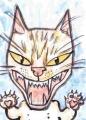 龍魔ハートのある猫