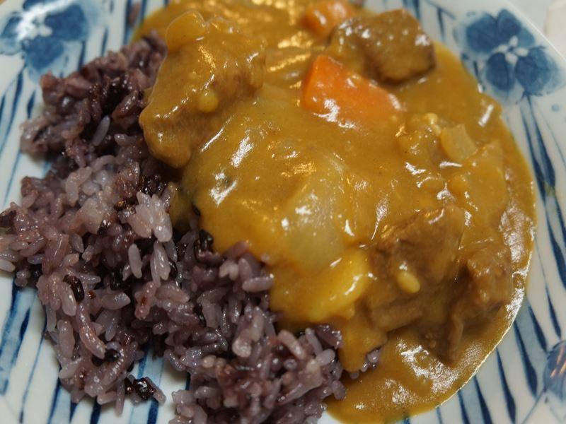 黒米カレー