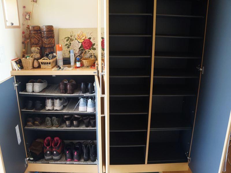 靴箱の掃除