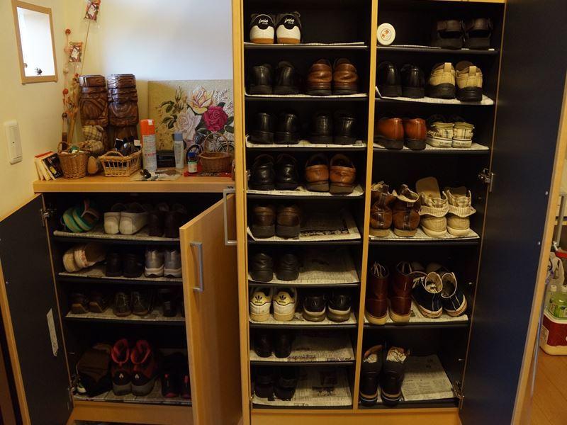 靴箱の整理