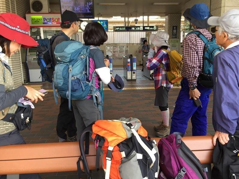 阪急夙川駅集合