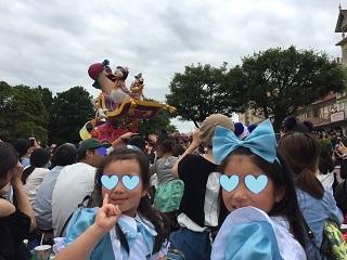 ディズニーランド35周年パレード