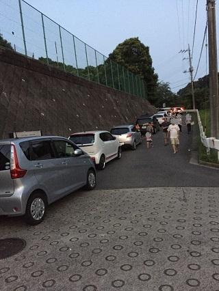 瀬上ホタル駐車場