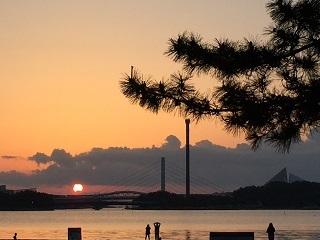 海の公園日の出