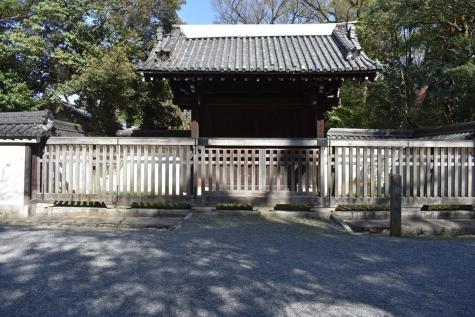 旧桂宮邸の門