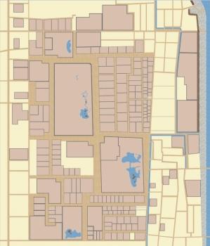 公家町土地区画整理事業-区画決定