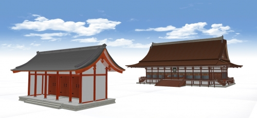 紫宸殿と承明門