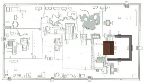 紫宸殿南庭回廊図