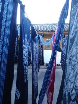 麗江の藍染