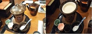 7/21 結婚記念日ランチ とろとろ豆腐 甲羅