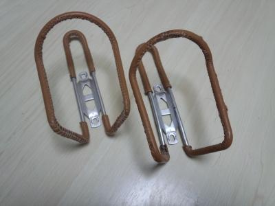 ボトルホルダーの革巻き