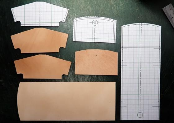 正方形コインケースパーツ