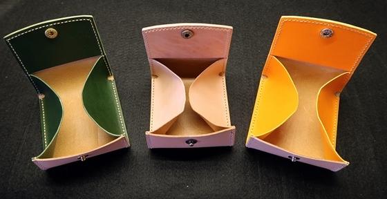 3色コインケース