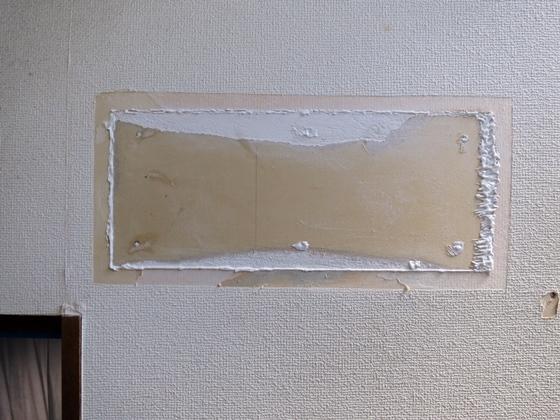 階段壁補修7