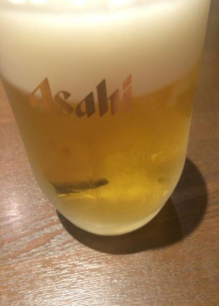 楽笑 (5)生ビール580円