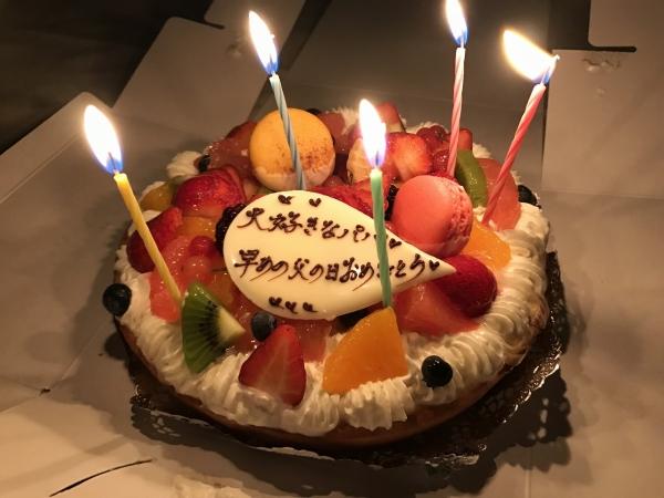 スーリール ダンジュ 平群店 201806 父の日ケーキ (15)