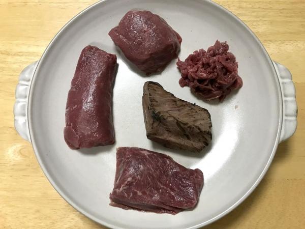 業務スーパー 千興ファーム食肉センター 馬刺し、馬肉食べ比べ (20)