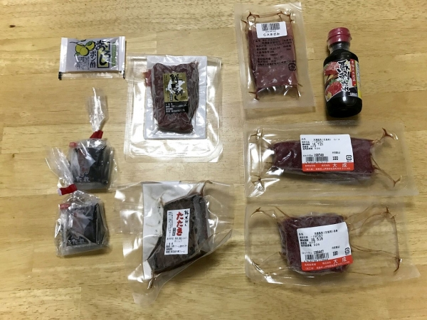業務スーパー 千興ファーム食肉センター 馬刺し、馬肉食べ比べ (12)