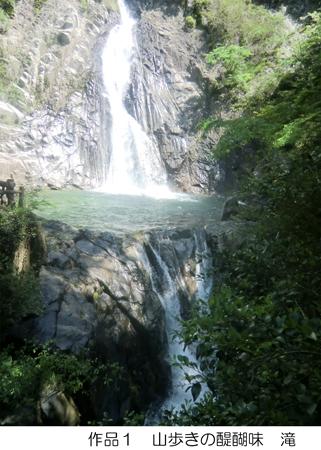 13 山歩きの醍醐味 滝s