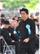 20180625慰霊の日安倍晋三