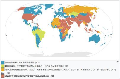 20180709世界の死刑制度
