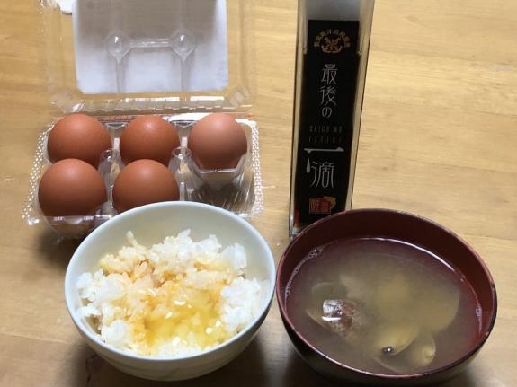 2018-04-25 卵かけごはん