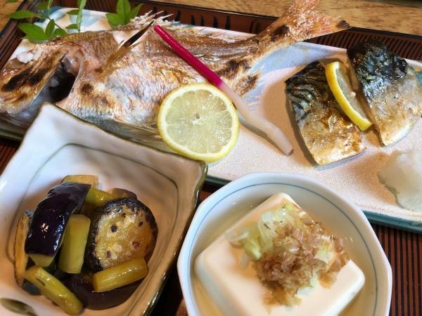 2018-07-31 焼き魚定食