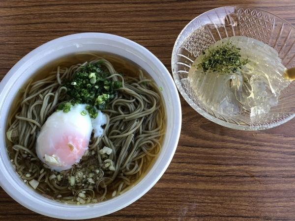 2018-08-05 ハス麺とトコロテン