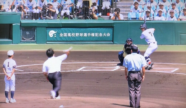 2018-08-05 松井始球式