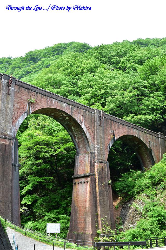 旧信越本線碓井第三アーチ(めがね橋)56D2